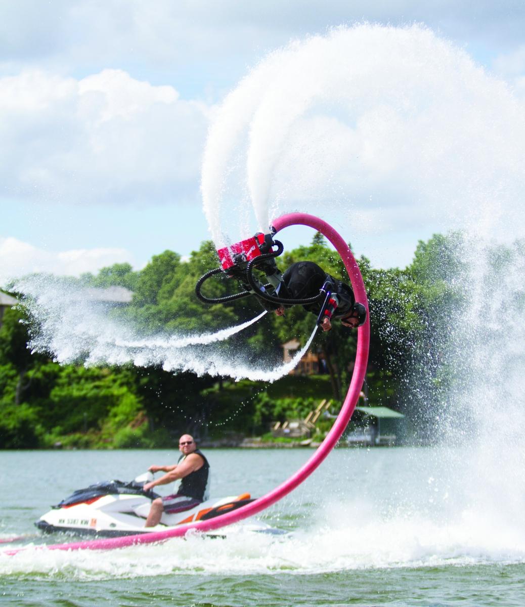 Lake Minnetonka fly board and jet ski rentals